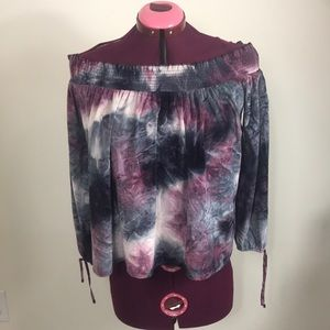 American Eagle Outfitters Off Shoulder Top Sz M